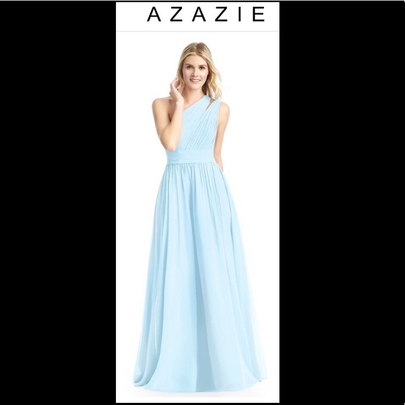 cffc646a50 AZAZIE Molly dress in Sky Blue Size A18